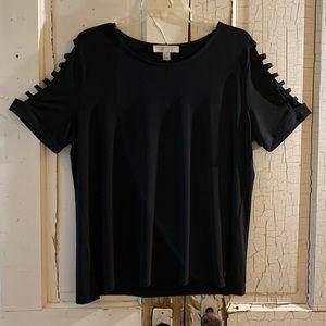 Michael Kors black top Size XL